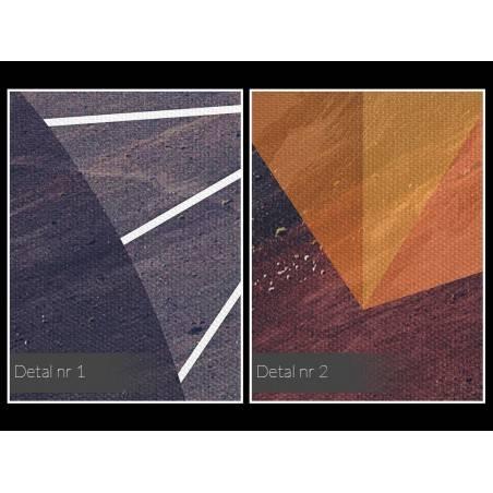 Filozofia wszechświata - nowoczesny obraz na płótnie - 120x80 cm
