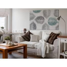 Równowaga w przyrodzie - nowoczesny obraz do salonu - 120x80 cm