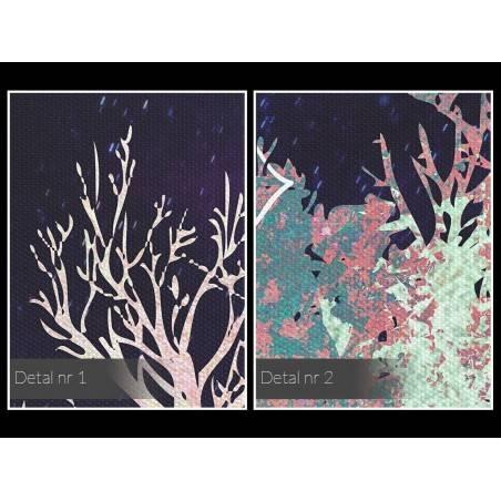 Równonoc - nowoczesny obraz do sypialni - 120x80 cm