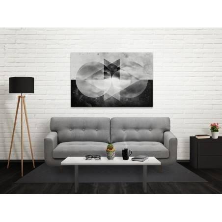 Futurologia - nowoczesny obraz na płótnie - 120x80 cm