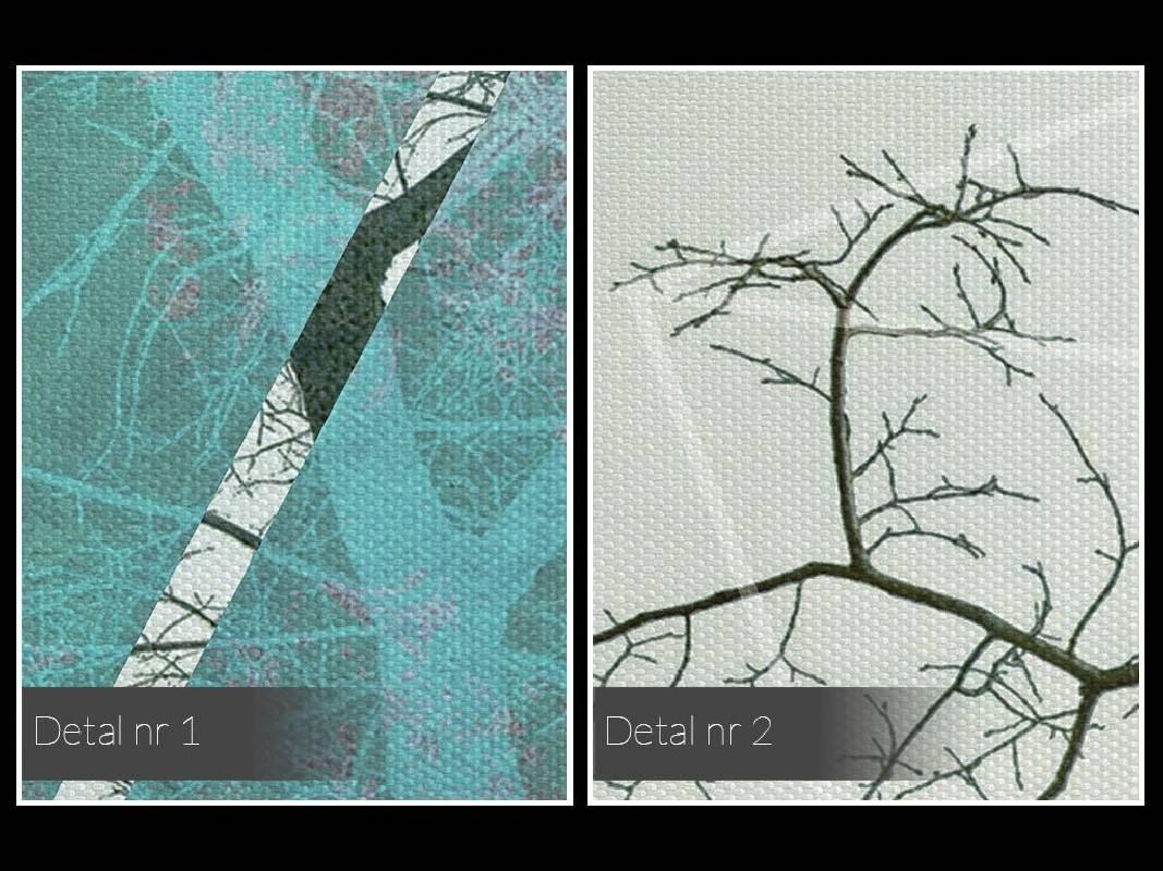 Przełom awangardy - nowoczesny obraz na płótnie - 120x80 cm