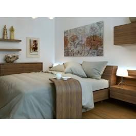 Impresja w stylu retro - nowoczesny obraz do sypialni