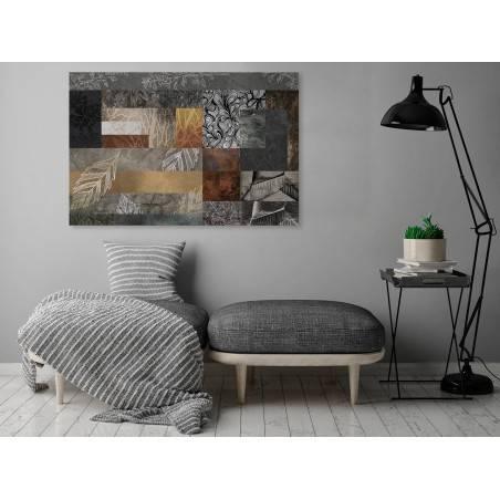 Oddech melancholii - nowoczesny obraz do salonu - 120x80 cm
