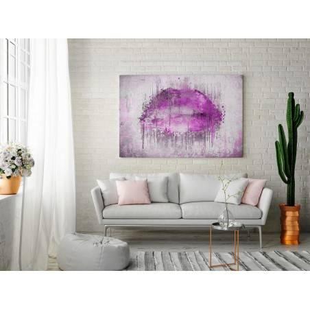 Słodycz słów - nowoczesny obraz na płótnie - 120x80 cm