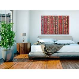 Wzory etnograficzne - nowoczesny obraz na płótnie - 120x80 cm