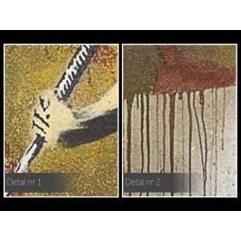 Banksy - Lascaux - nowoczesny obraz na płótnie - 120x80 cm