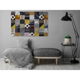 Wonderland - nowoczesny obraz na płótnie - 120x80 cm