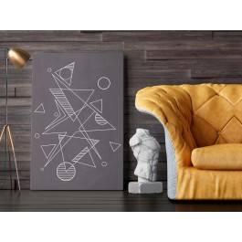 Wspólny mianownik - nowoczesny obraz na płótnie - 120x80 cm
