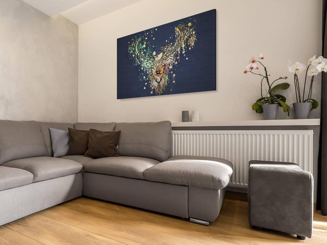 Zaklinacz snów - nowoczesny obraz na płótnie - 120x80 cm