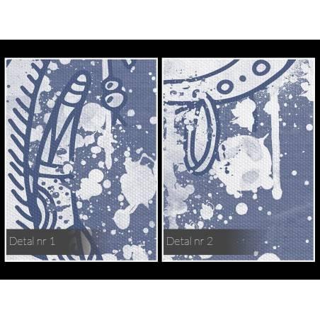 Łapacz snów - nowoczesny obraz na płótnie - 120x80 cm