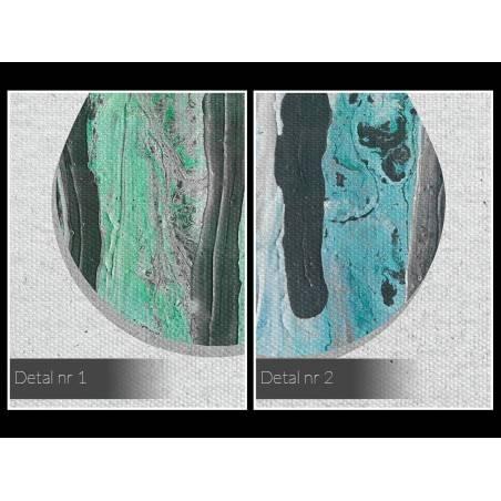 Łzy niebios - nowoczesny obraz na płótnie - 120x80 cm