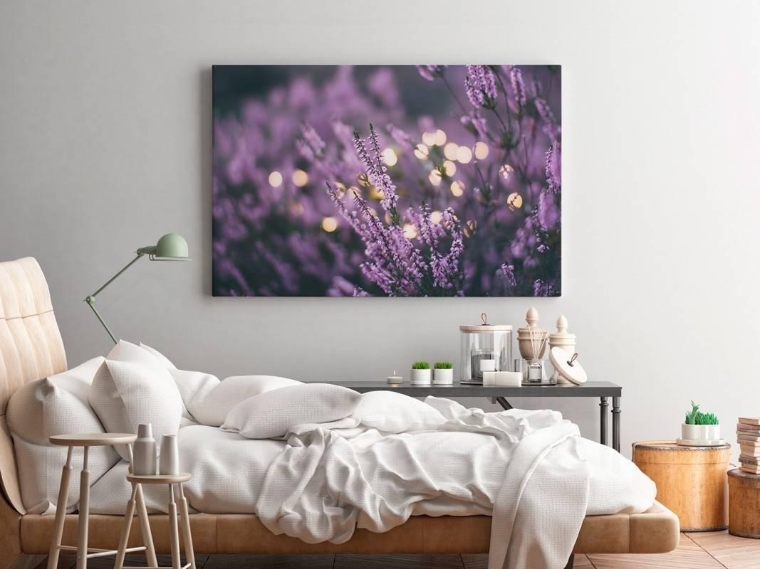 Lawendowe marzenie - fotografia na płótnie - 120x80 cm