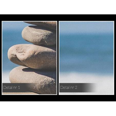 W duchu Zen - fotoobraz do sypialni - 120x80 cm
