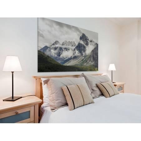 Górski krajobraz - fotoobraz na płótnie - 120x80 cm