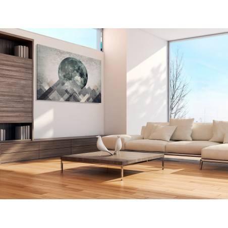 Ostatni bastion - nowoczesny obraz na płótnie - 120x80 cm