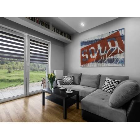 Sold - nowoczesny obraz na płótnie - 120x80 cm