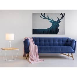 Skandynawski sen - nowoczesny obraz na płótnie - 120x80 cm