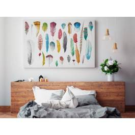 Leksykon przestworzy - nowoczesny obraz na płótnie - 120x80 cm