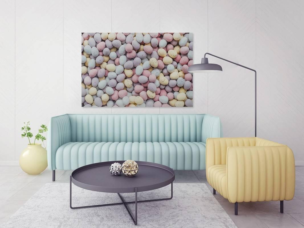 Kolory życia - fotoobraz do salonu - 120x80 cm