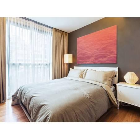 Gonitwa chmur - fotoobraz do sypialni - 120x80 cm