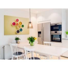 Kubki smaku - fotoobraz do kuchni - 120x80 cm