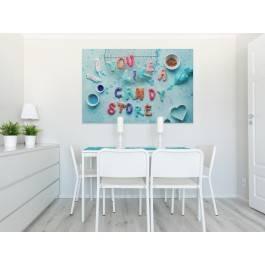 Candy store - fotoobraz do kuchni - 120x80 cm