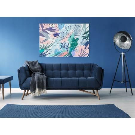 Pustynne noce - nowoczesny obraz na płótnie - 120x80 cm