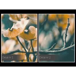 Urok gałęzią rzucony - nowoczesny obraz na płótnie