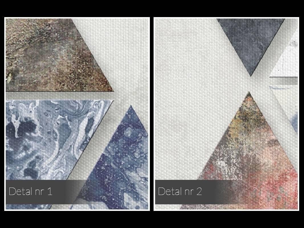 Finezyjna forma - nowoczesny obraz na płótnie - 120x80 cm