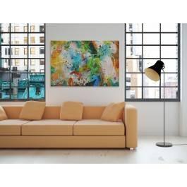 Exodus - nowoczesny obraz do salonu - 120x80 cm