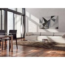 Betonowy las - nowoczesny obraz na płótnie