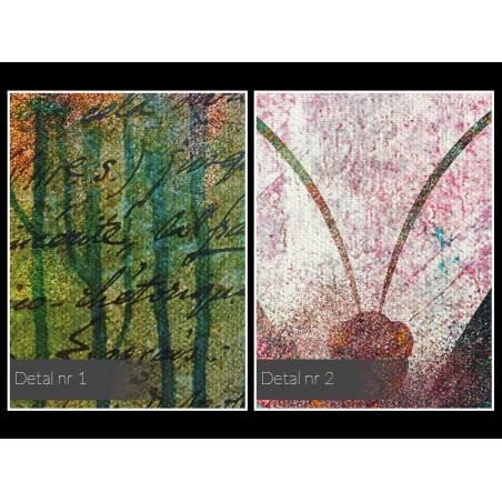 Ujarzmione piękno - nowoczesny obraz na płótnie - 120x80 cm