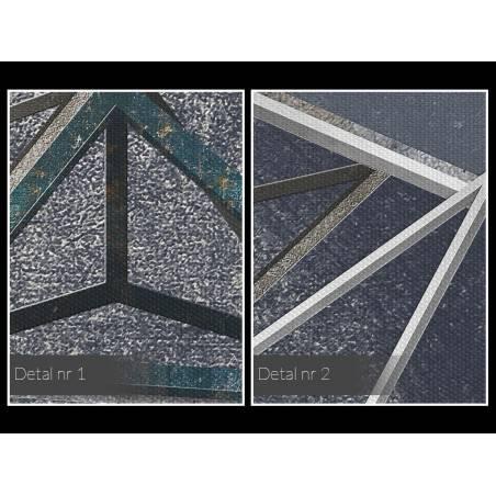 Głębia niebytu - nowoczesny obraz na płótnie - 120x80 cm
