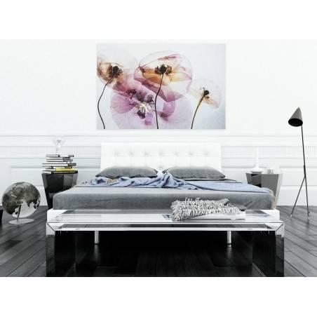 Pod maską niewinności - nowoczesny obraz na płótnie - 120x80 cm