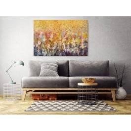 Florystyczna hegemonia - nowoczesny obraz do salonu