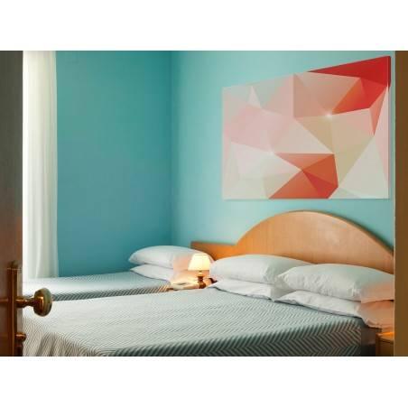 Kwarc - nowoczesny obraz na płótnie - 120x80 cm