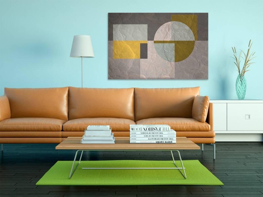Pryzmat doświadczeń - nowoczesny obraz na płótnie - 120x80 cm