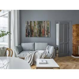 Poranna prasa - nowoczesny obraz na płótnie - 120x80 cm