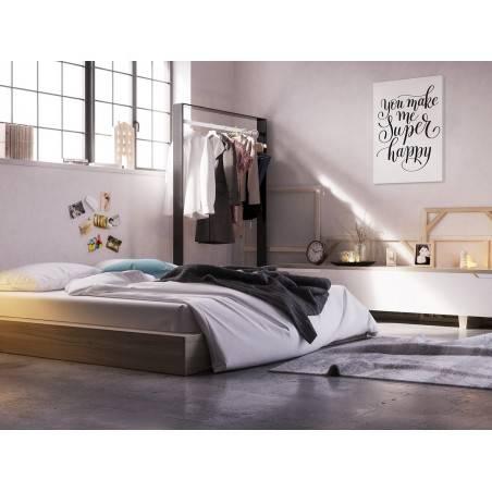 You make me superhappy - nowoczesny obraz do sypialni - 50x70 cm