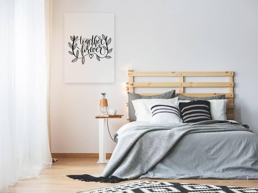 Together forever - nowoczesny obraz do sypialni - 50x70 cm