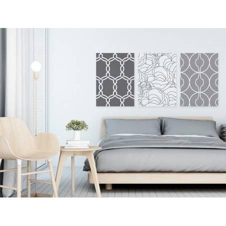 Andaluzja - nowoczesny obraz na płótnie - 3szt. 50x70 cm