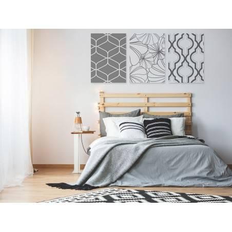 Kantabria - nowoczesny obraz na płótnie - 3szt. 50x70 cm