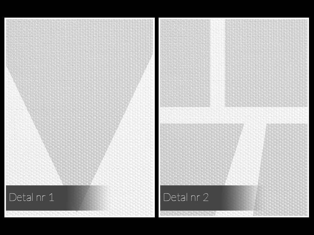 Nawarra - nowoczesny obraz na płótnie - 3szt. 50x70 cm