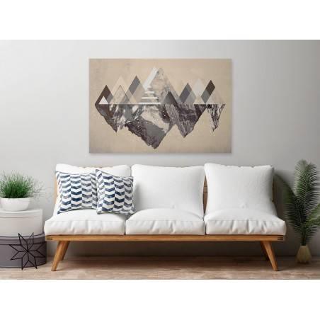 Czar gór - nowoczesny obraz na płótnie - 120x80 cm