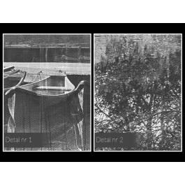 Tchnienie spokoju - nowoczesny obraz na płótnie - 120x80 cm