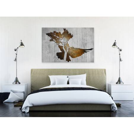 Czas zgody - nowoczesny obraz na płótnie - 120x80 cm