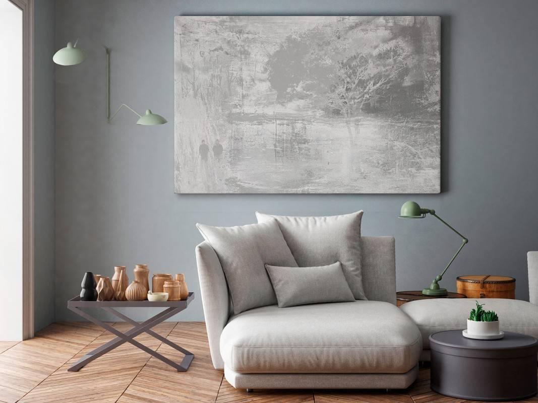 Wieczne drzewo przyjaźni - nowoczesny obraz na płótnie - 120x80 cm