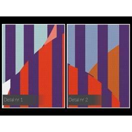 Kaskady uczuć - nowoczesny obraz na płótnie - 120x80 cm