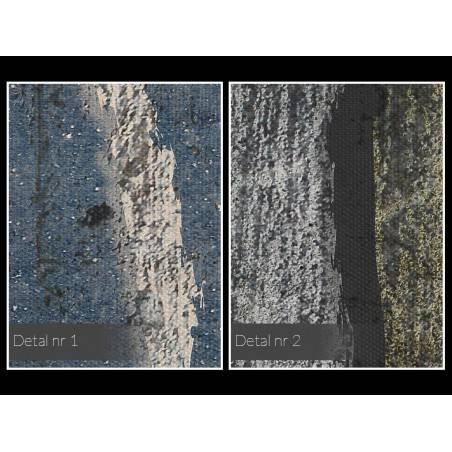 Księżycowy pył życia - nowoczesny obraz do salonu - 120x80 cm