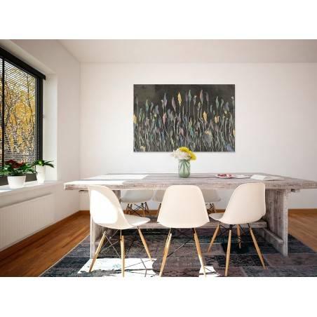 Idylla codzienności - nowoczesny obraz na płótnie - 120x80 cm